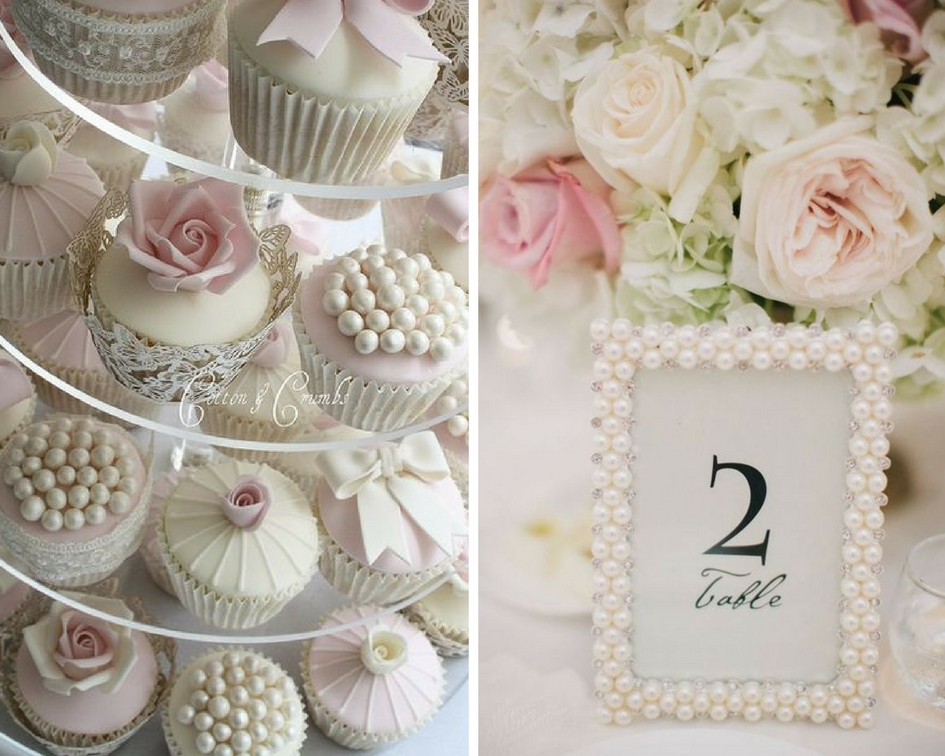nunta perle, prajituri perle, rama perle