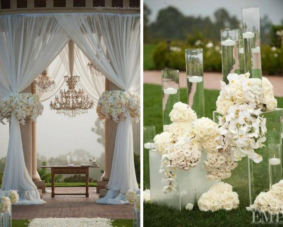 nunta eleganta, natura
