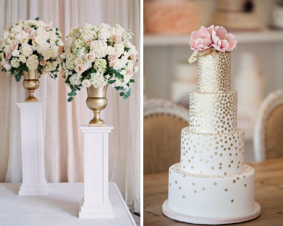 nunta eleganta, tort elegant