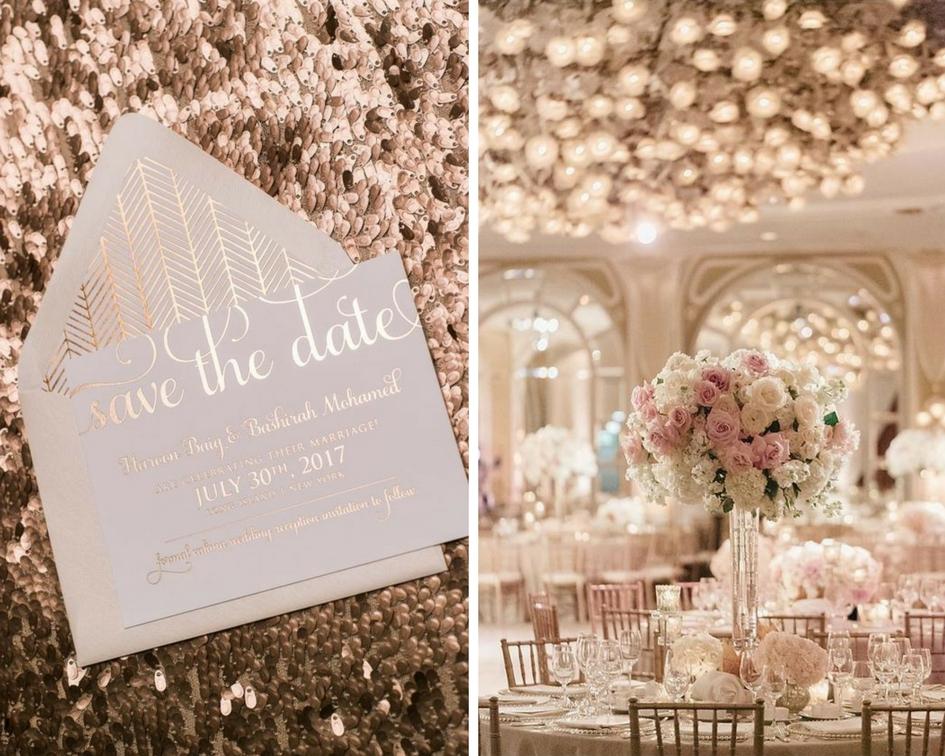 nunta eleganta, aranjament elegant, invitatie eleganta