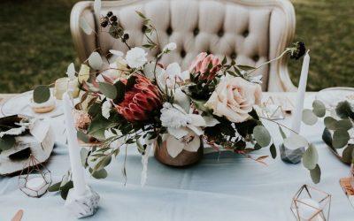 Designul nunții în 2018: cromatică și stil