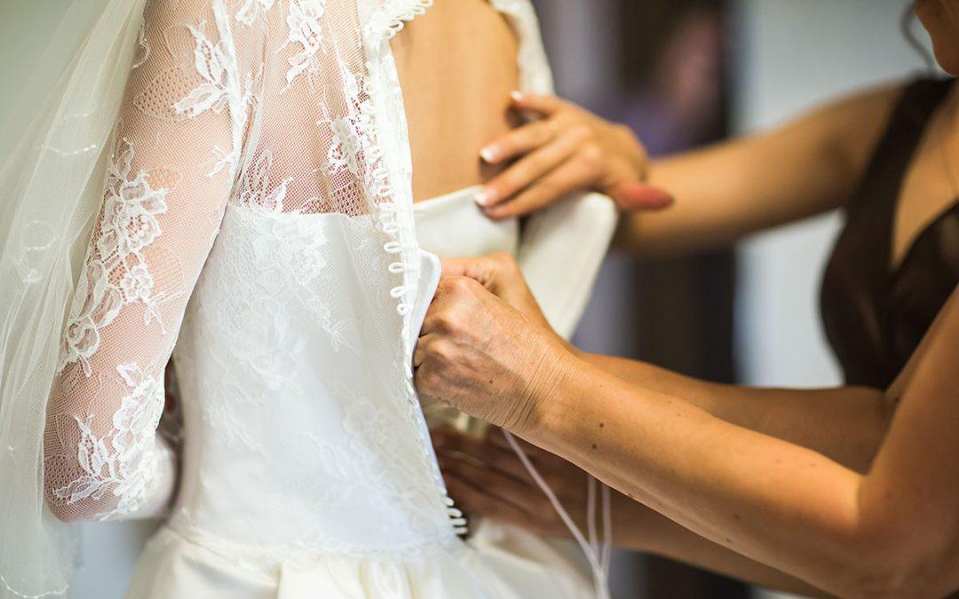 La cumpărături pentru rochia de mireasă