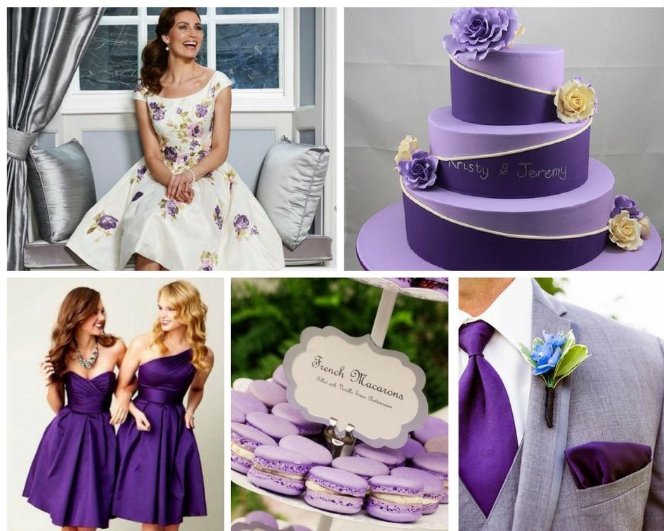 nunta violet, tort violet, prajituri violet