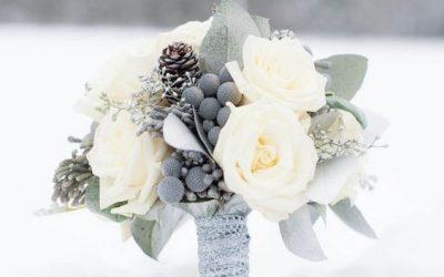Buchete de mireasa pentru nuntile de iarna