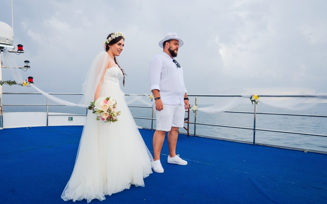 White Wedding by the Sea